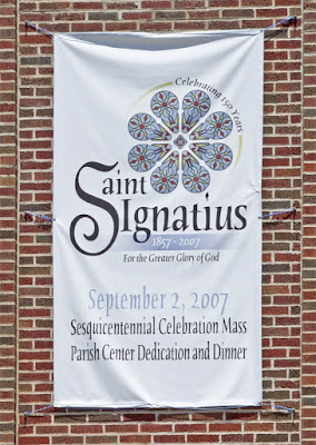 Saint Ignatius of Loyola Roman Catholic Church, in Concord Hill, Missouri, USA - banner
