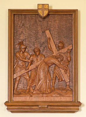 Holy Family Roman Catholic Church, in Port Hudson, Missouri, USA - Station of the Cross