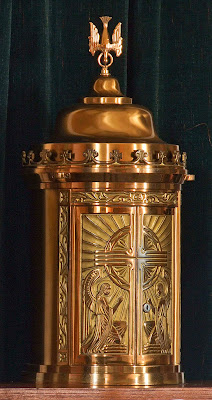 Holy Family Roman Catholic Church, in Port Hudson, Missouri, USA - tabernacle