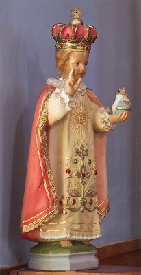 Saint Stephen Roman Catholic Church, in Richwoods, Missouri, USA - Infant Jesus of Prague