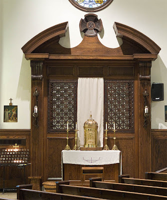 All Saints Roman Catholic Church, in University City, Missouri, USA - tabernacle