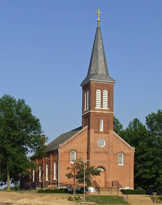 Saint Joseph Roman Catholic Church in Neier, Missouri, USA - exterior