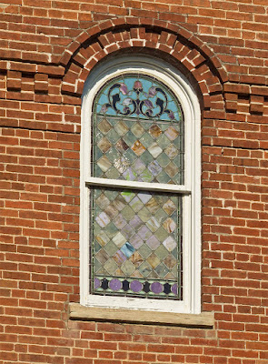 Saint Joseph Roman Catholic Church in Neier, Missouri, USA - exterior window