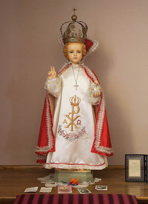 Saint Joseph Roman Catholic Church in Neier, Missouri, USA - Infant Jesus of Prague