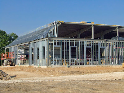 Saint Joseph Roman Catholic Church in Neier, Missouri, USA - under construction