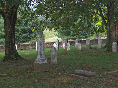 Photos of Saint John the Baptist Roman Catholic Church, in Gildehaus, Missouri, USA - cemetery