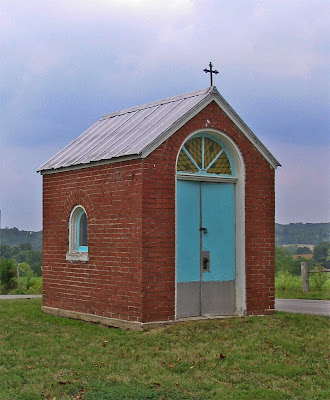 Photos of Saint John the Baptist Roman Catholic Church, in Gildehaus, Missouri, USA - tiny chapel