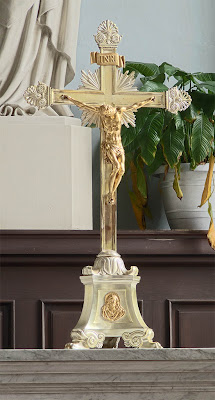 Basilica of Saint Louis, King of France, in Saint Louis, Missouri, USA - Crucifix