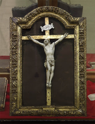 Museum of the Basilica of Saint Louis, King of France, in Saint Louis, Missouri, USA - crucifix
