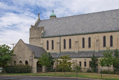 Saint Mary Magdalen Roman Catholic Church, in Brentwood, Missouri, USA - exterior