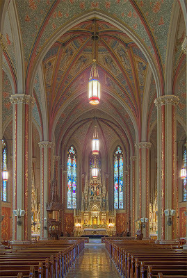 Saint Francis de Sales Oratory, in Saint Louis, Missouri, USA - interior