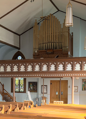 Saint Joseph Roman Catholic Church, in Chenoa, Illinois, USA - pipe organ