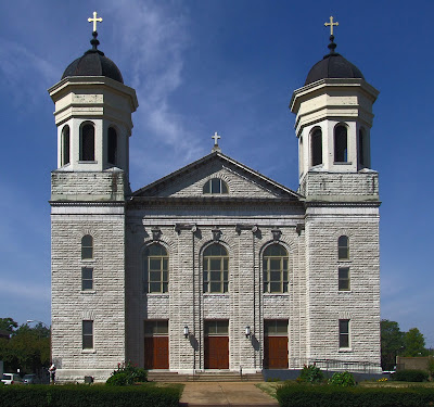 Saints Teresa and Bridget Church, in Saint Louis, Missouri, USA - exterior