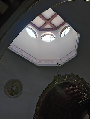 Saint George Roman Catholic Church, in Affton, Missouri, USA - skylight