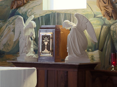 Saint James Roman Catholic Church, in Catawissa, Missouri, USA - tabernacle