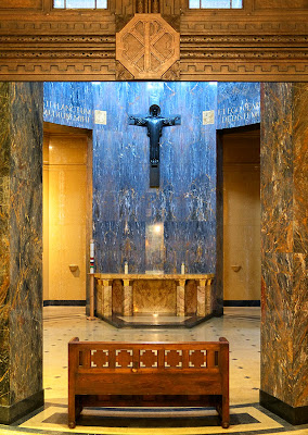 Mausoleum Chapel at Calvary Cemetery, in Saint Louis, Missouri, USA