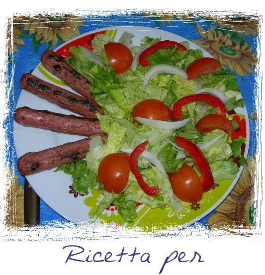 Ricetta per bambini wurstel e insalata ricetta per for Cucinare wurstel