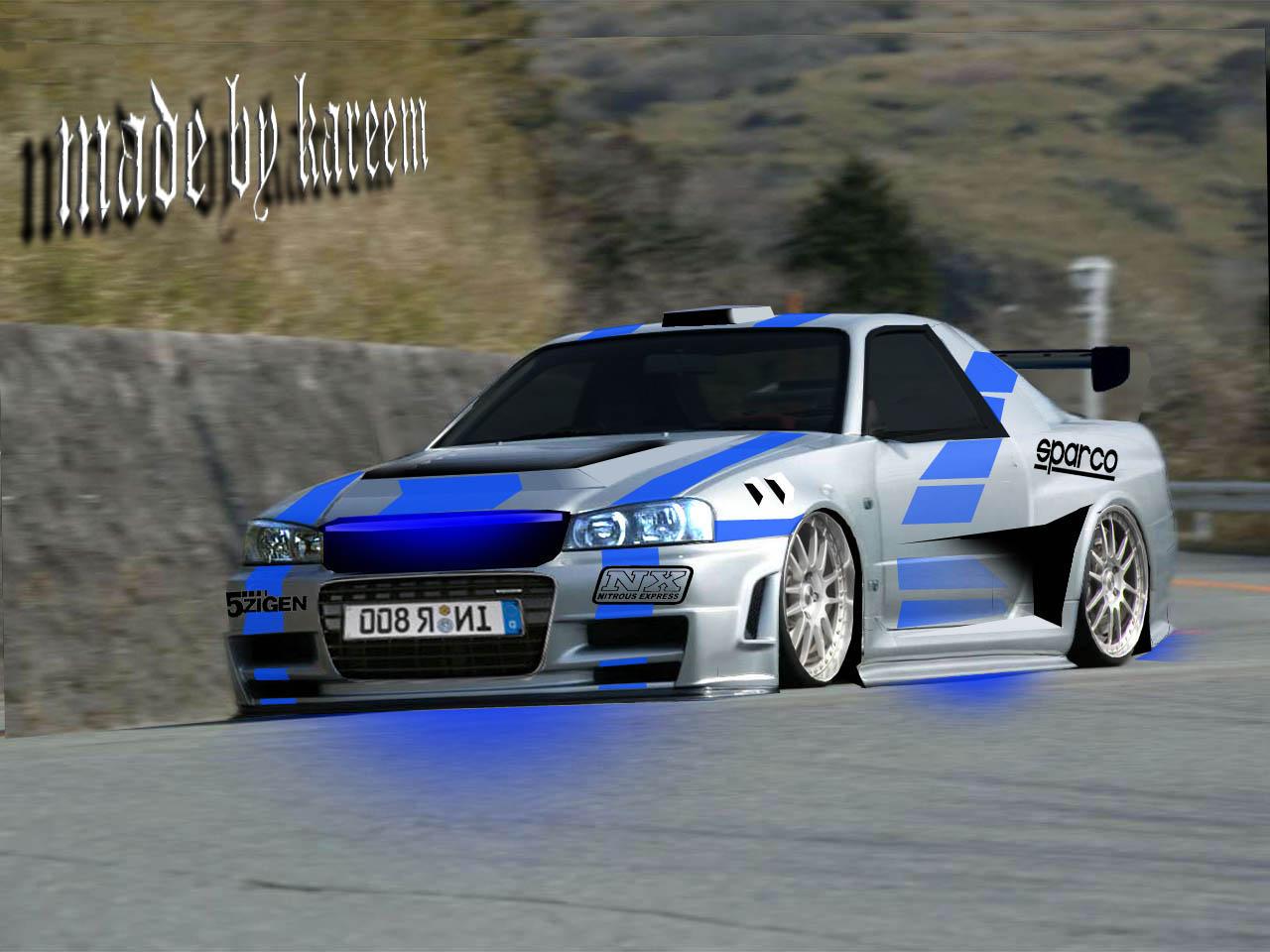 Komisch Nissan R34 Skyline Gt R Wallpapers