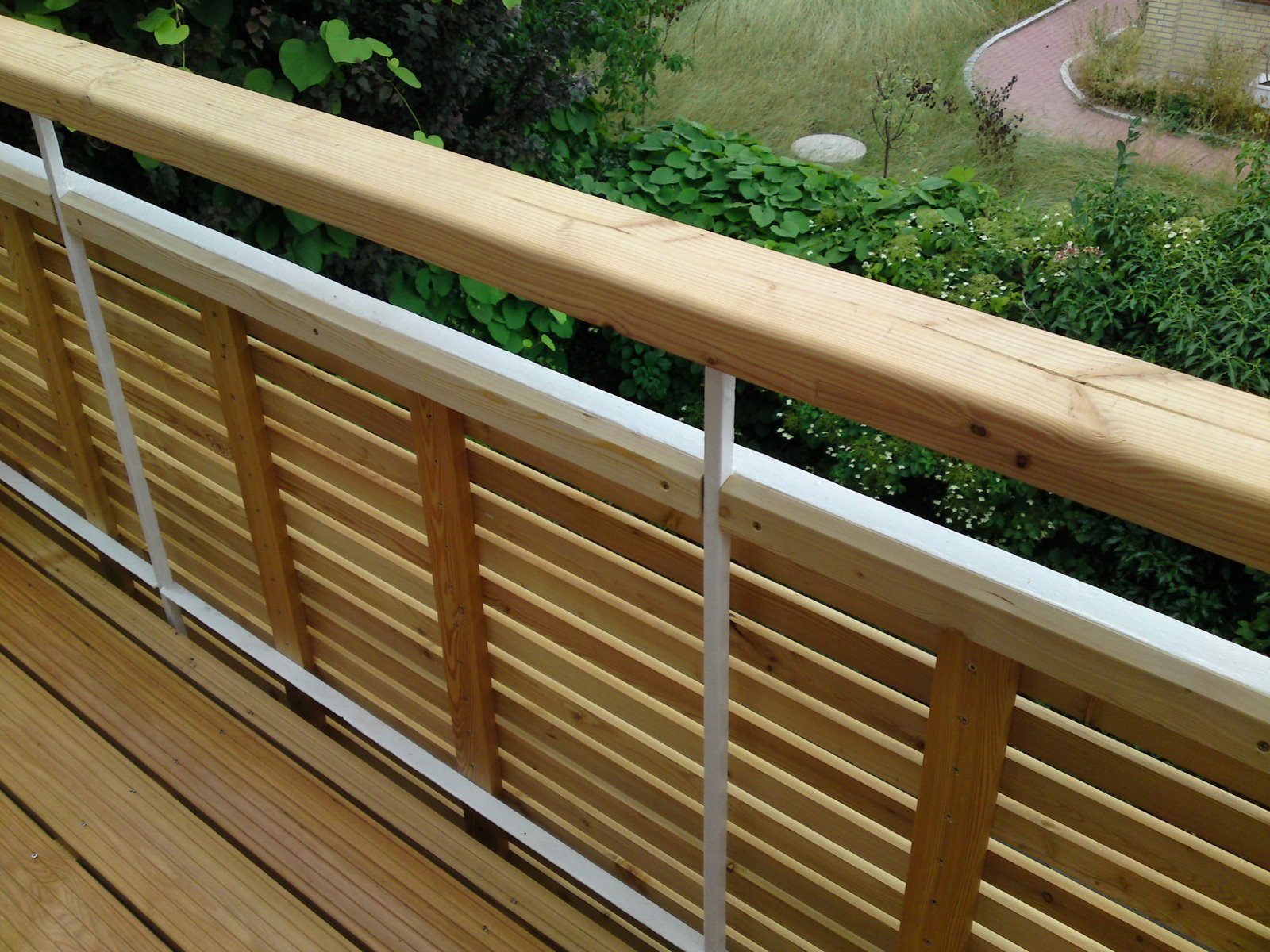 Balkon Verkleidung Bambus Deutschland