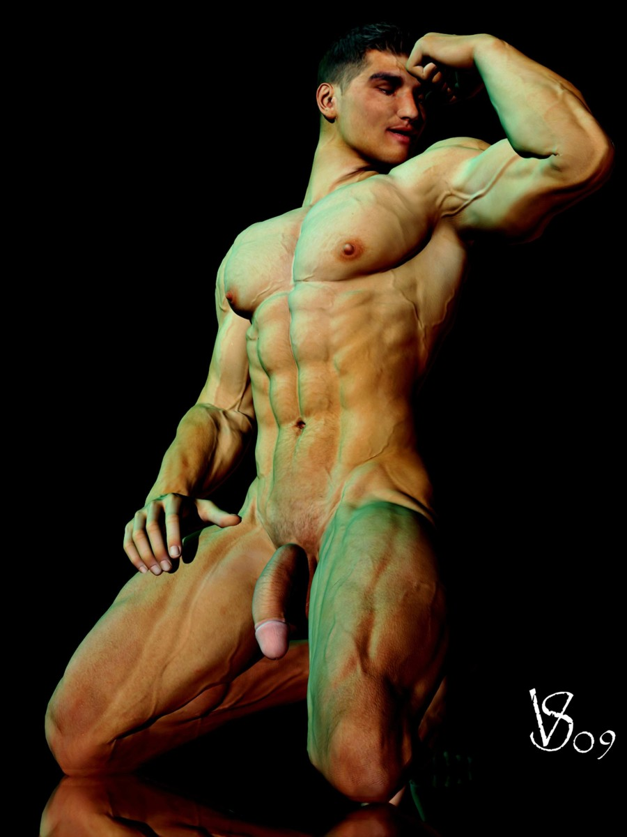 Hot Muscle Men Straight And Gay Nude Male Art And Gay -5023