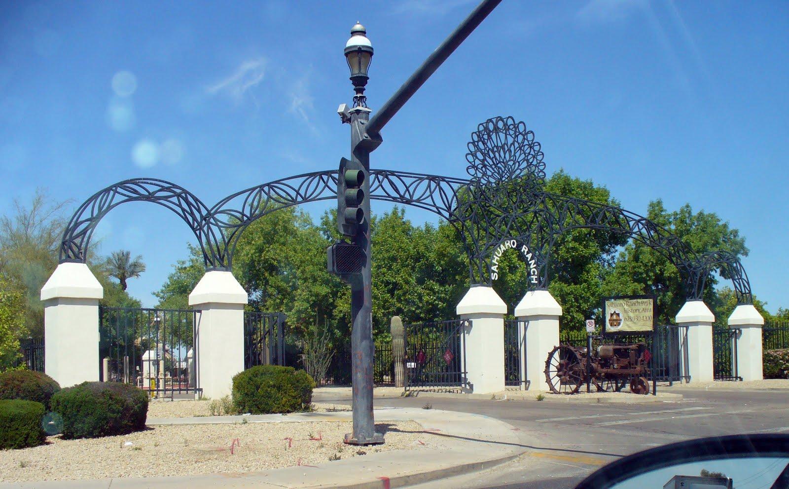 Historic Sahuaro Ranch Park