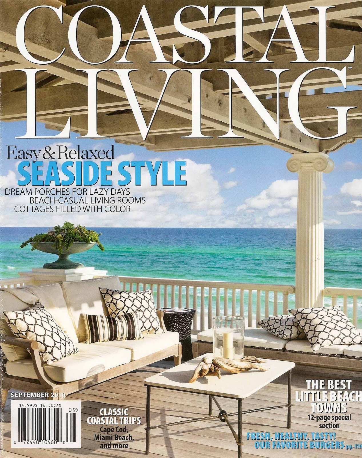 Galina Sobolev: Press Blast: Coastal Living