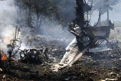 Resultado de imagem para Queda de um avião  no Aeroporto Internacional  em Nevada