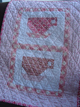 pattern for teacup mini quilt
