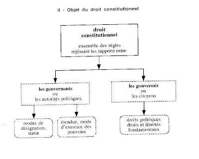 Plan dissertation droit constitutionnelle