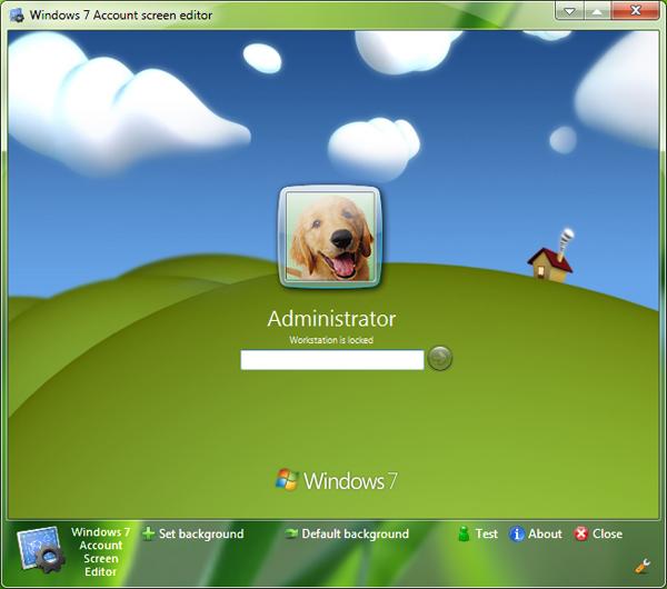 windows 7 logon screen editor by bcubing