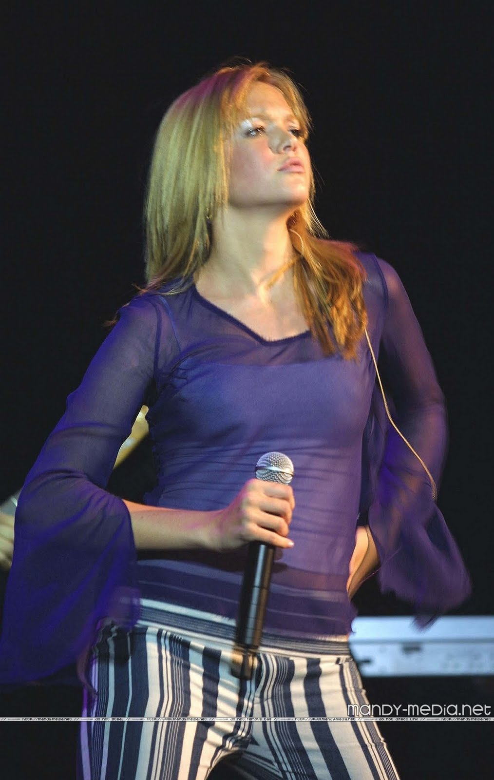 hollywood Mandy Moore in live work concert