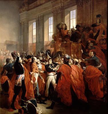 le général Bonaparte au conseil des Cinq-Cents