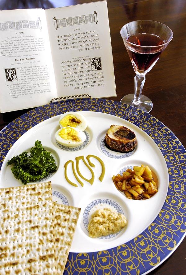 Passover Seder Food List