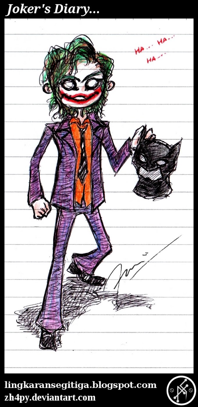 "Joker's Diary <font color=#ff0000>""Why So Serious?""</font>"