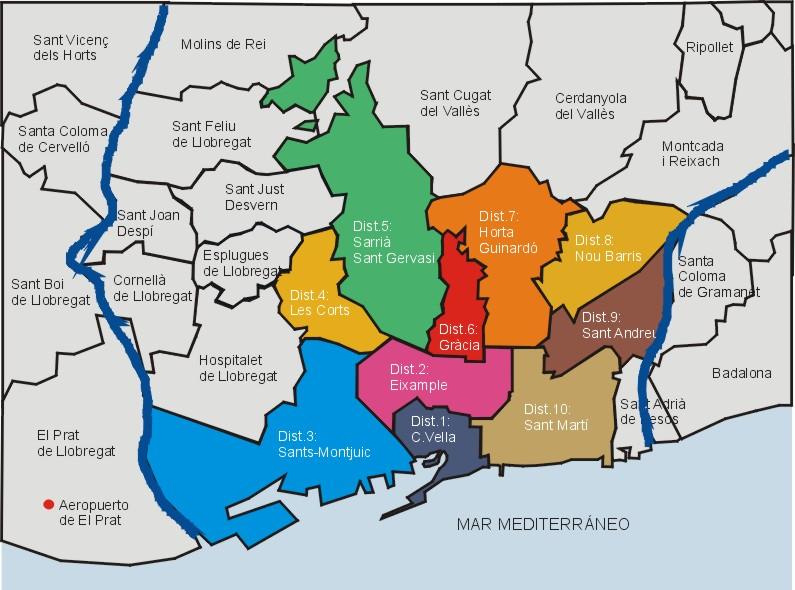 mapa de lisboa por zonas Eu fui de erasmus para Barcelona, e tu?: Escolher uma zona para viver mapa de lisboa por zonas