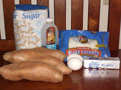 Raw sweet potato recipes