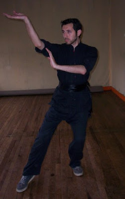 Ta Chu Kuan Kung Fu maestro Eduardo Acevedo