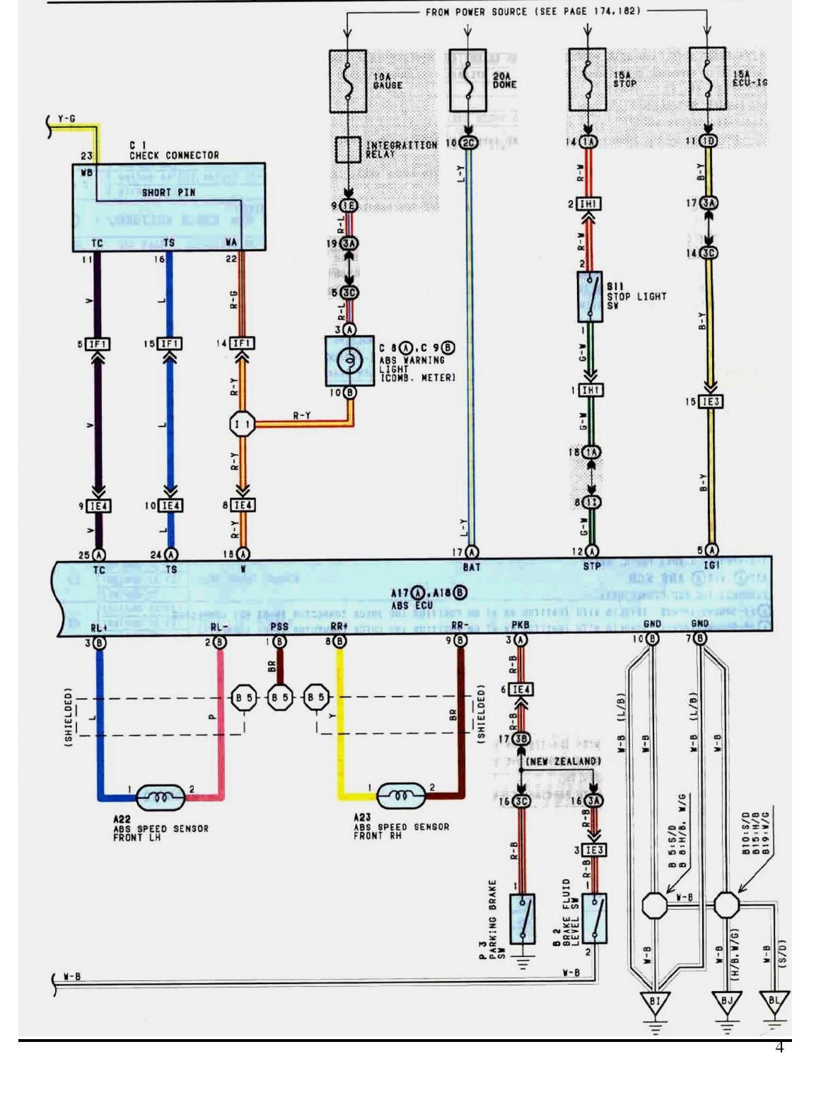 Rover 75 Abs Wiring Diagram Kz1000 And Body Electrical System