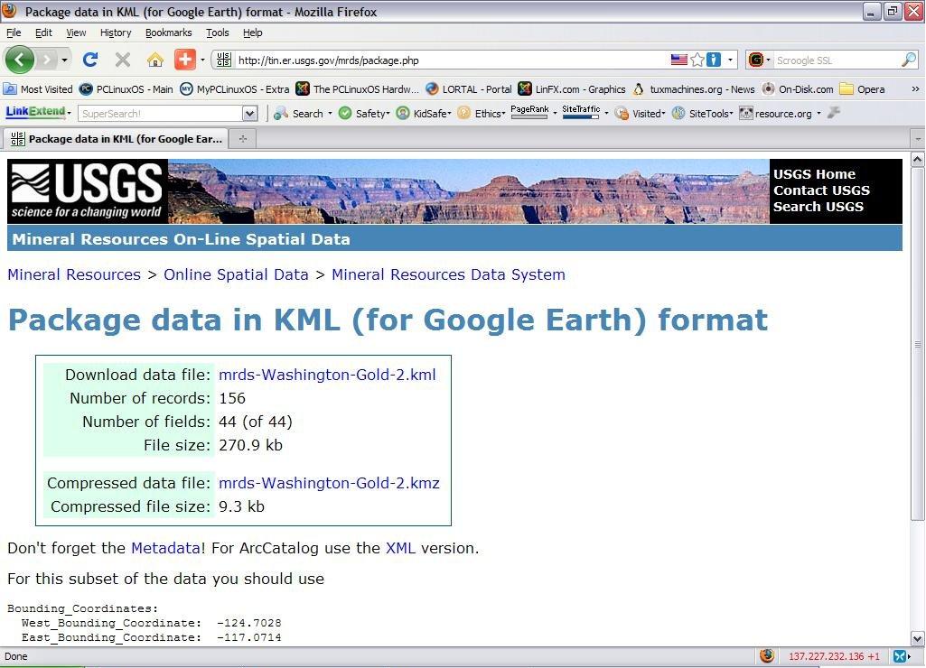 kmz files database