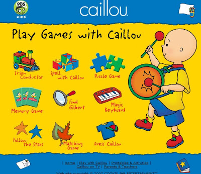 Hello, Net Baby!: Designing + Caillou****