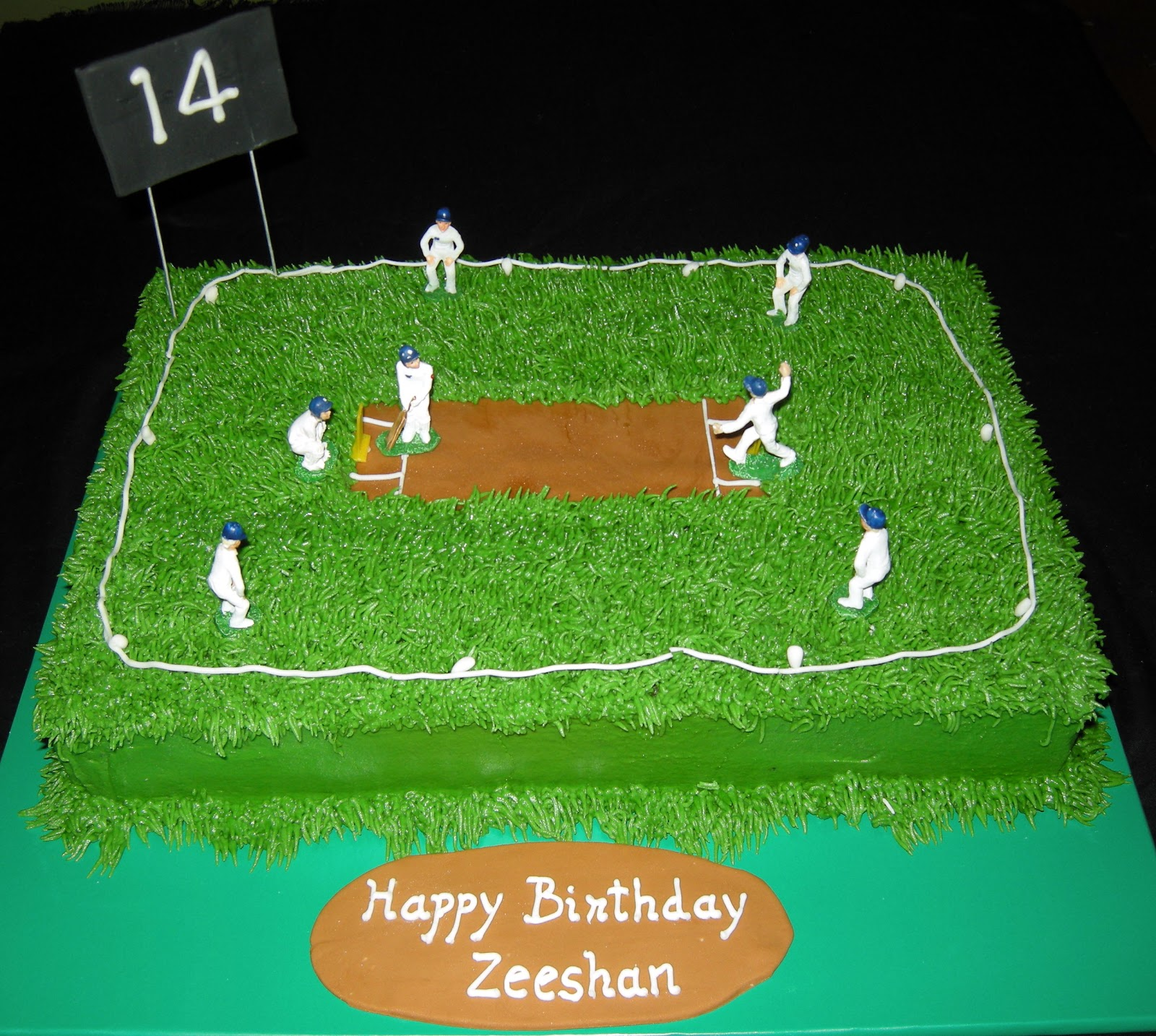 Harshi S Cakes Amp Bakes Cricket Theme