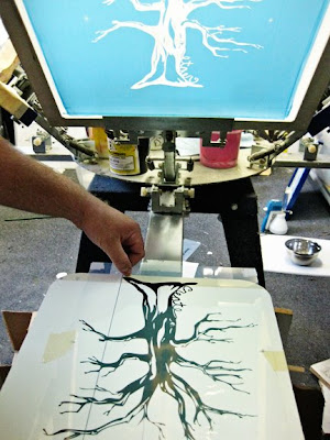 The One with Screen Printing | Paige Taylor Evans