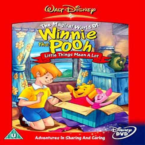 Winnie the Pooh Male Stvari