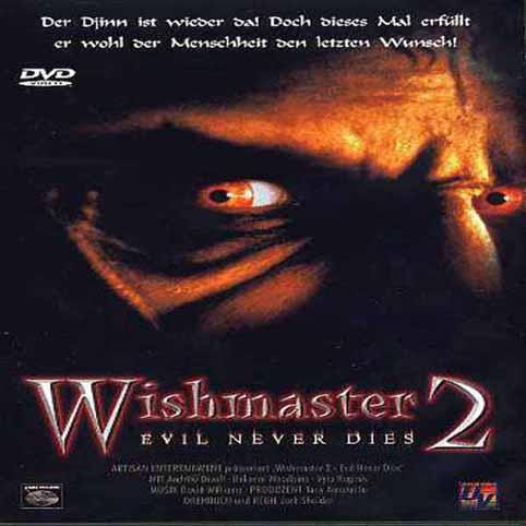 Wishmaster 2  Evil Never Dies 1999 DVDRip Xvid