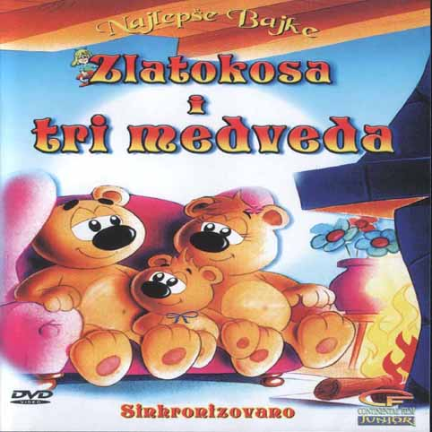 Zlatokosa I Tri Medveda  DVDRip Xvid