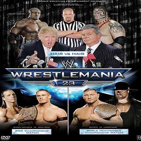 WWE Wrestlemania 23 DVDRip Xvid