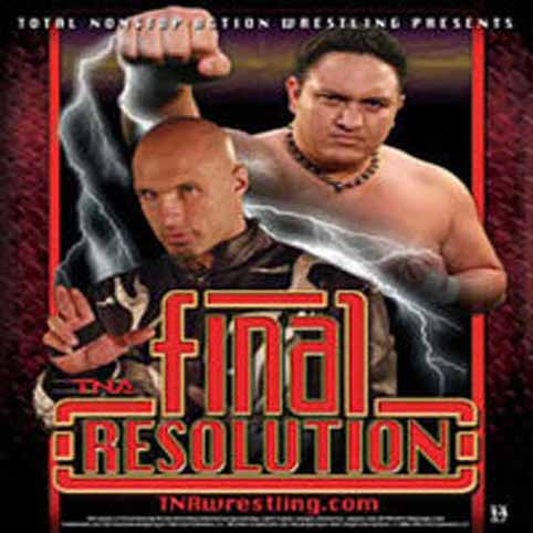 WWE Final Resolution 2008 DVDRip Xvid]