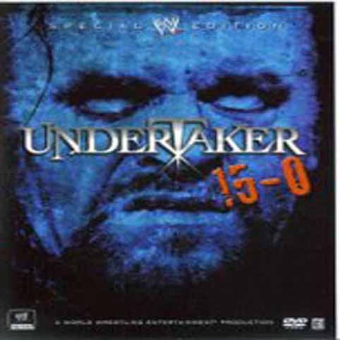 WWE - The Undertaker  15-0 Special Edition