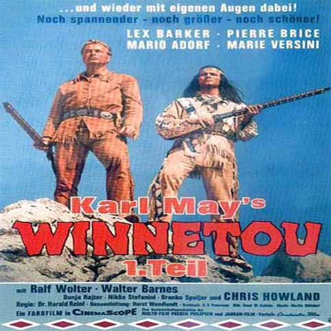 Winnetou 1 The Warrior (1963) DVDRip Xvid
