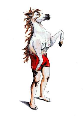 O lendário cavalo do secretário*